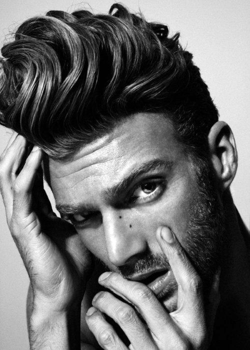 Retro Stylish Quiff Mens Hairstyles