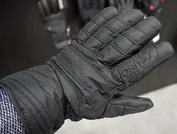 Reusch Mens Black Winter Insulated Gloves