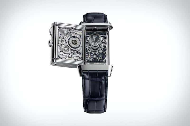 Jaeger-LeCoultre Surprise with the World's First Four Faced Watch