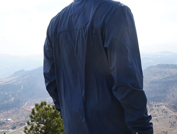 Review Back Ogio All Elements Strech 1 4 Zip Jacket