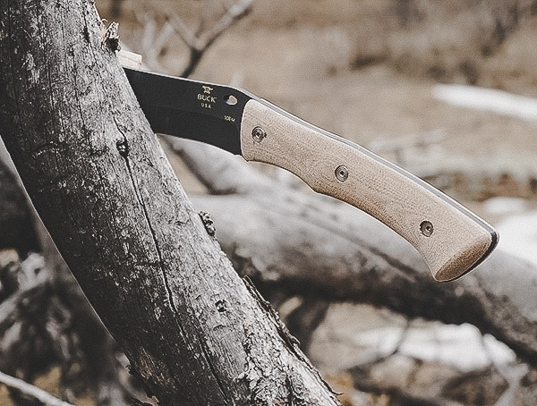 Review Buck Knives Compadre Froe