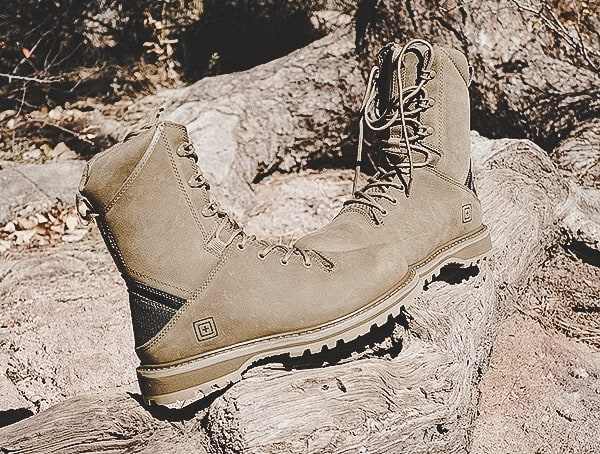 Review Full Grain Leather Apex Boots For Men 5 11 Tactical Outdoor Field Test