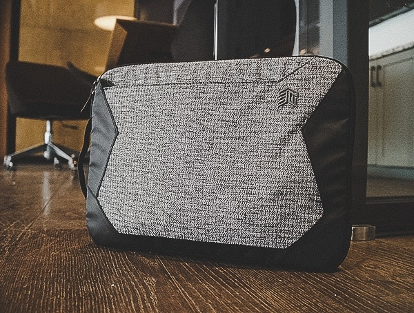Review Granite Black Stm Goods Myth 15 Inch Laptop Sleeve
