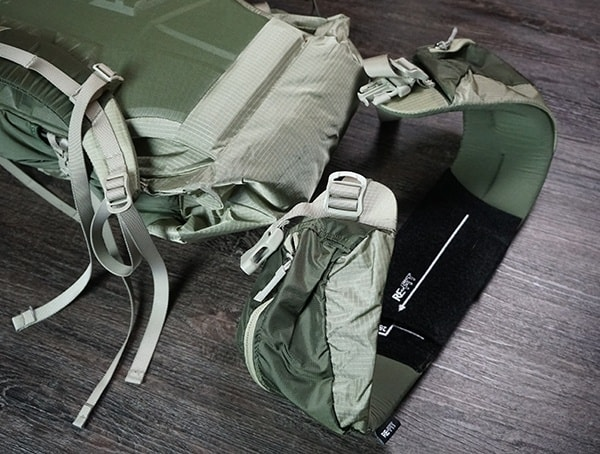 Review Granite Gear Crown2 60 Removeable Belt