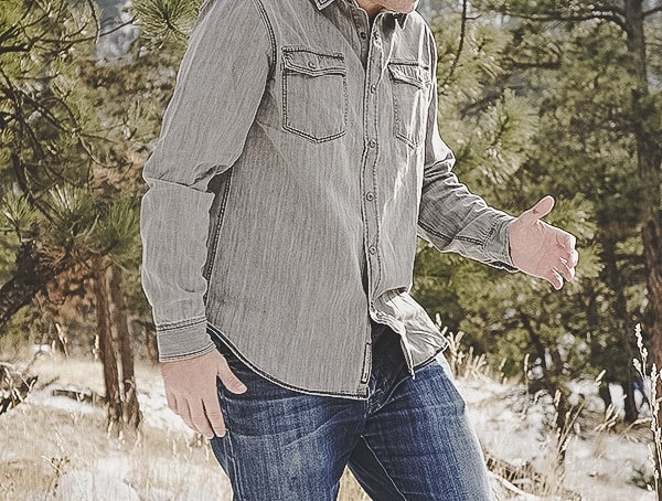 Review Gray Dakota Grizzly Ryder Shirt For Men