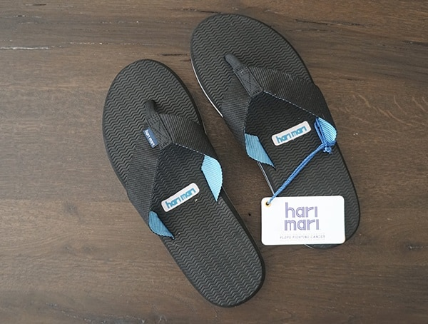 Review Guys Hari Mari Dunes Water Friendly Nylon Foam And Rubber Flip Flops