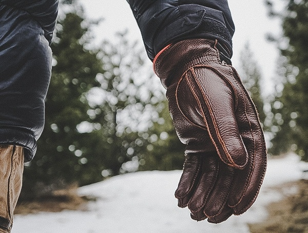 Review Hestra Granvik Gloves For Men With Brown And Olive Elk Leather