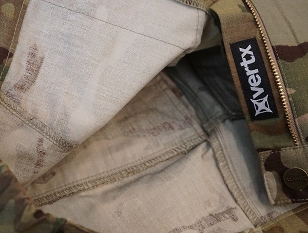 Review Interior Stiching Vertx Recon Pants
