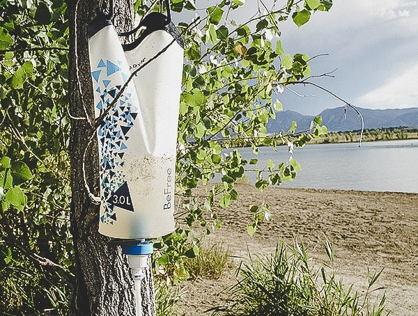 Review Katadyn Gravity Befree Water Filtration System 3 Liter