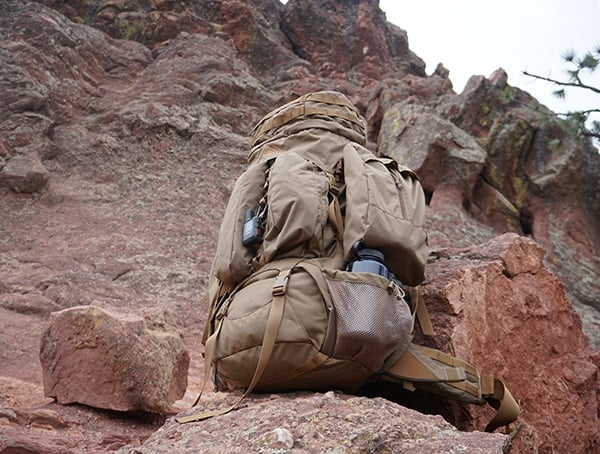 Review Kelty Eagle Coyote Brown Military Backpack