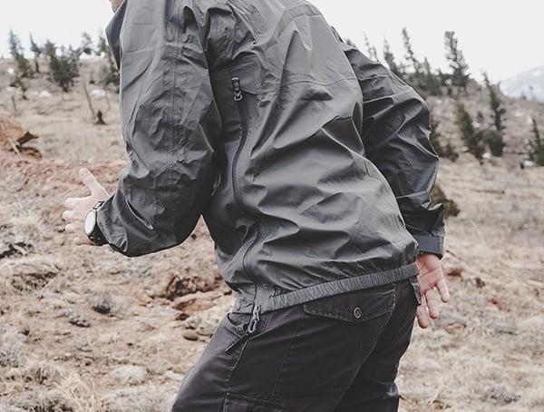 Review Manatee Grey Mens Beyond Clothing K6 Arx Rain Jacket