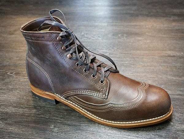 Review Mens Addison 1000 Mile Wingtip Boot