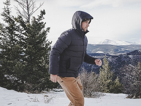 Review Mens Cold Weather Down Climawarm Adidas Jacket