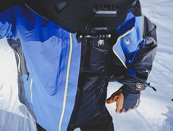 Review Mens Spyder Syrround Down Ski Jacket
