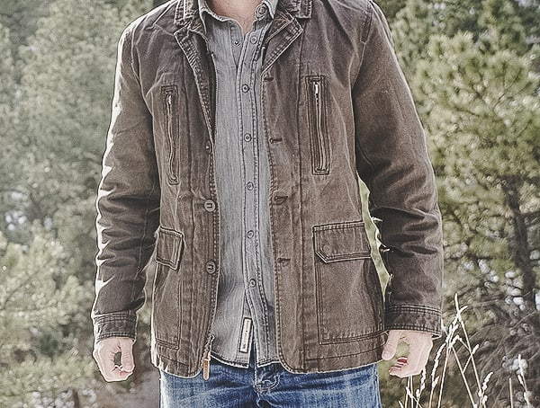 Review Mens Tobacco Dakota Grizzly Tripp Coat
