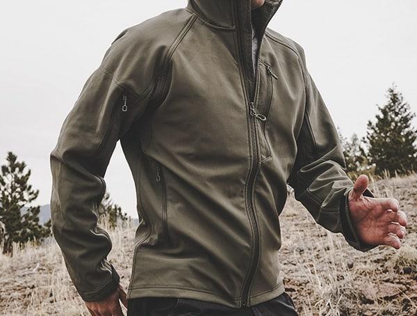 Reviews Mens Rustic Green Beyond Clothing Testa Shoftshell Jacket