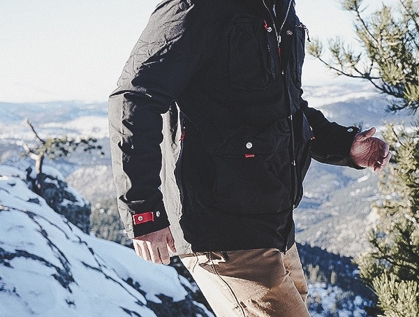 Reviews Topo Designs Mountain Mens Jacket In Black