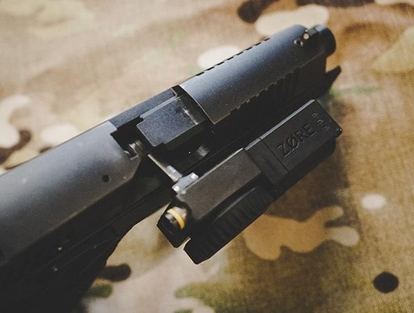 Reviews Zore X Core Series Gun Locked Chamber