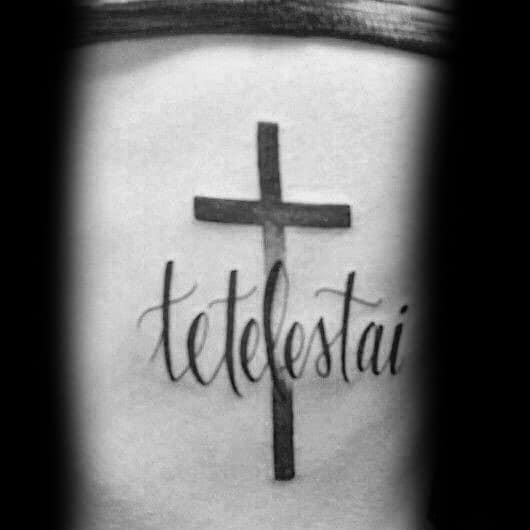 Rib Cage Side Guys Tetelestai Tattoo Designs