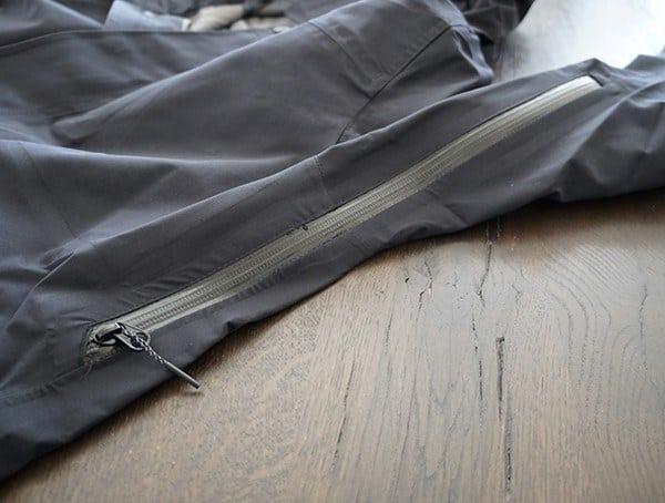 Ribcage Side Zipper Vent Holden M 51 3 Layer Fishtail Jacket For Men