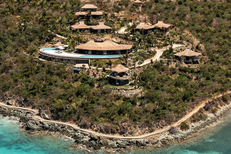 New Lodgings Now Available on Richard Branson's Moskito Island