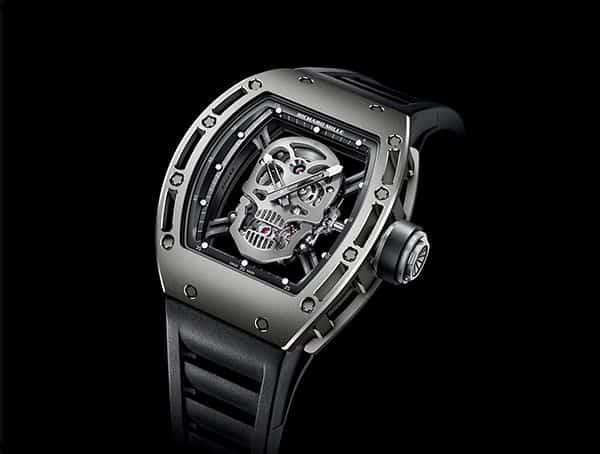 Richard Mille Rm 052 Tourbillon Skull Titanium Watches For Men