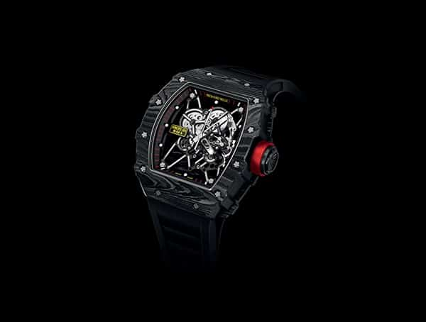 Richard Mille Rm 35 01 Rafael Nadal Carbon Fiber Watch For Men