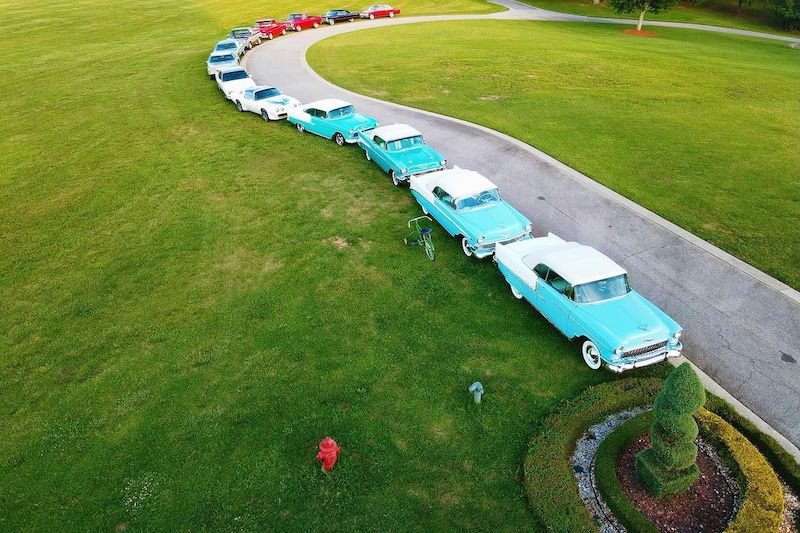 Rick Ross Shows Off His Collection of Classic American Cars