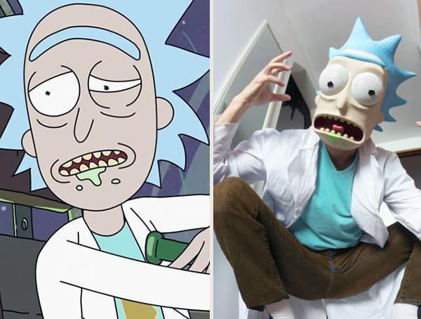 Rick Sanchez Rick And Morty Best Halloween Costumes For Men