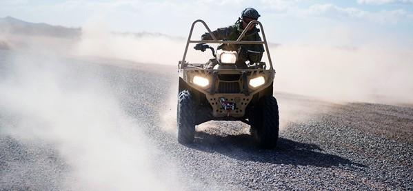 Ride An ATV In The Desert