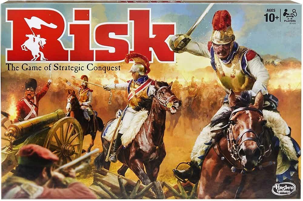 hasbro risk the game of strategic conquest