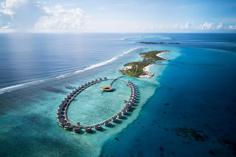 The Ritz-Carlton Opens Its First Resort in the Maldives