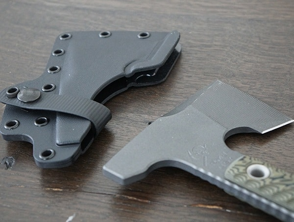 Rmj Tactical Jenny Wren Hammer Poll With Kydex Sheath Removed