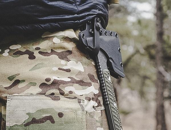 Rmj Tactical Jenny Wren Tomahawk Review On Belt Of Pants