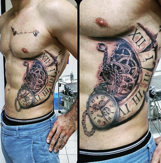 50 mechanic tattoos for men masculine robotic overhauls. Black Bedroom Furniture Sets. Home Design Ideas