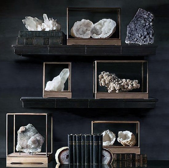 Rock Collection Bachelor Pad Wall Art