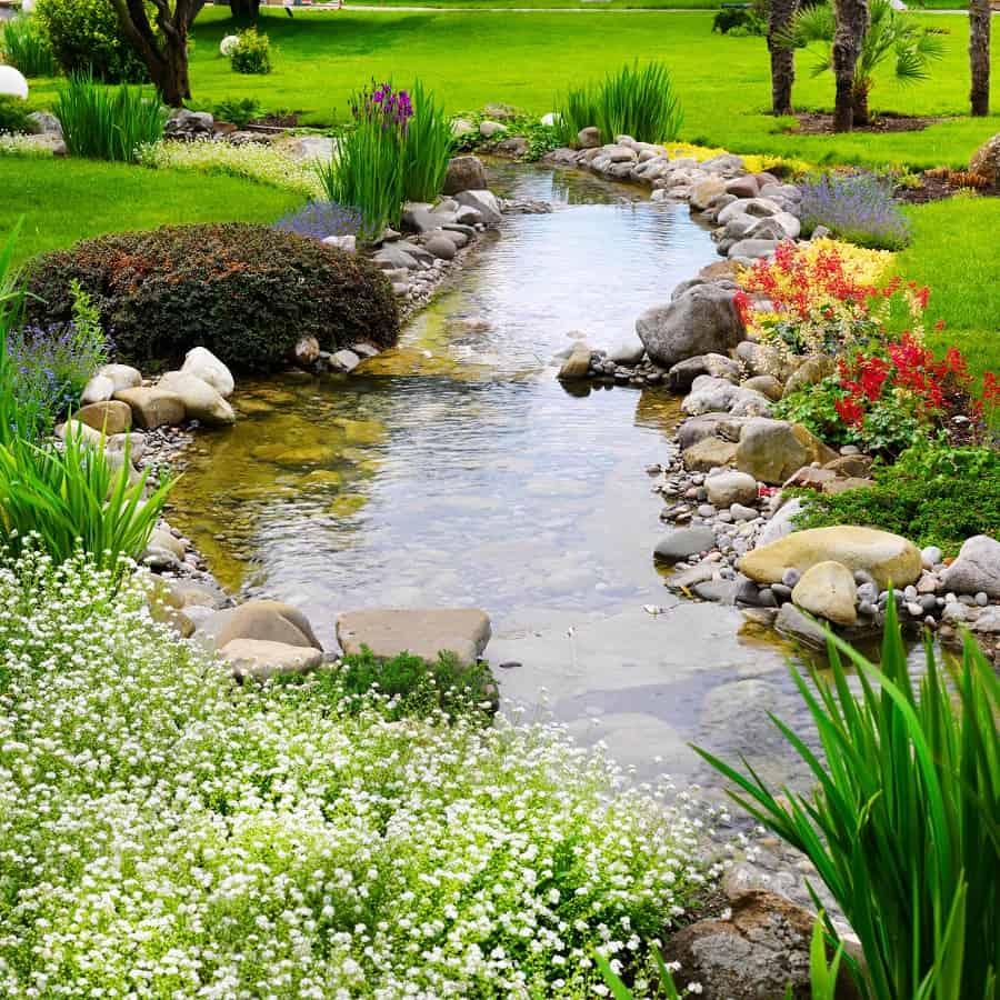 Backyard Design Ideas Rock Landscaping