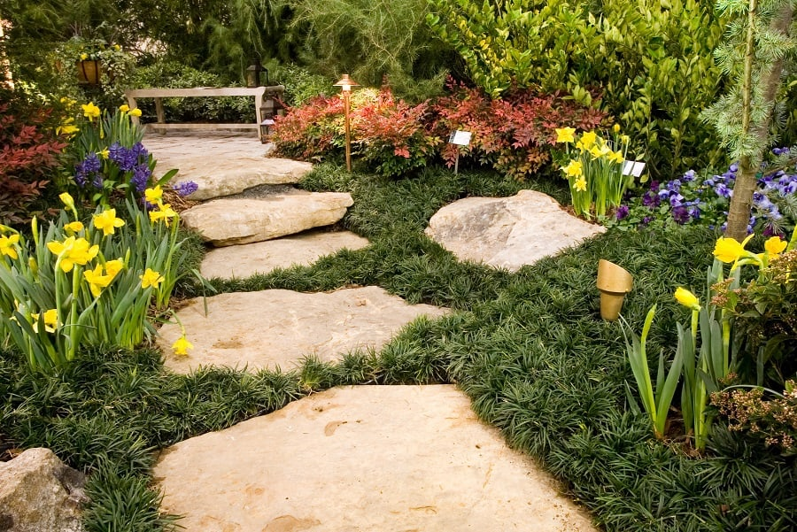 Ideas For Rock Landscaping Exterior