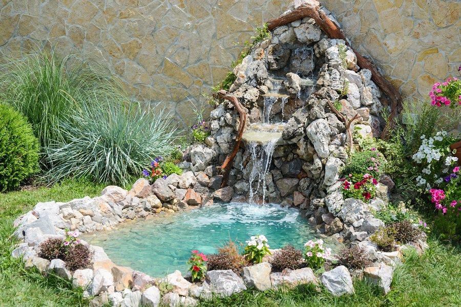 Luxury Rock Landscaping Ideas Steps