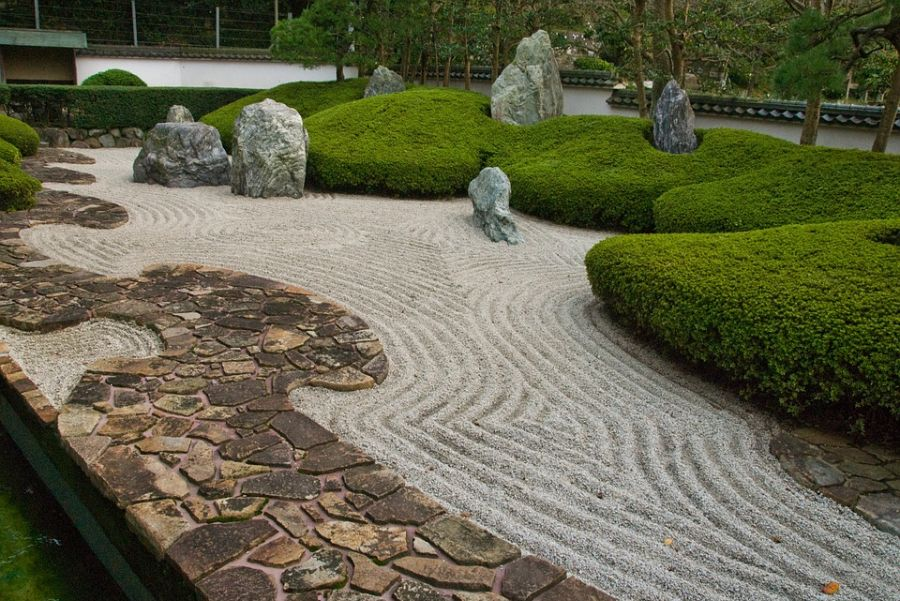 rock zen garden ideas 7