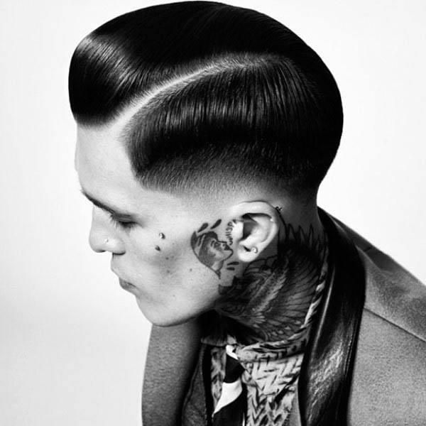 Rockabilly Greaser Hair Mens