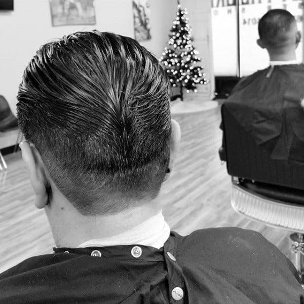 Rockabilly Male Ducks Ass Haircut Designs