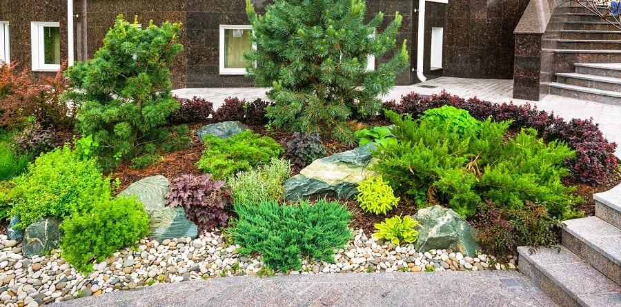 Firepit Rocks Landscape Design Ideas For Backyard