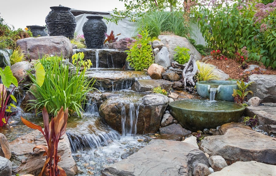 Fire Pit Contemporary Rocks For Landscaping