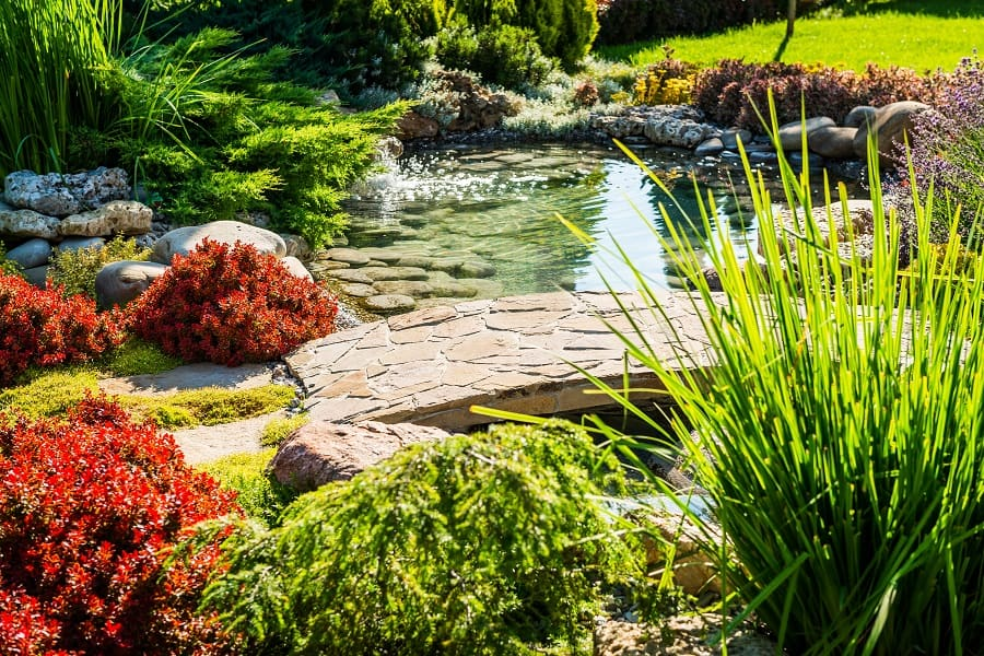 Stone Walkway Stairs Cool Rock Landscaping