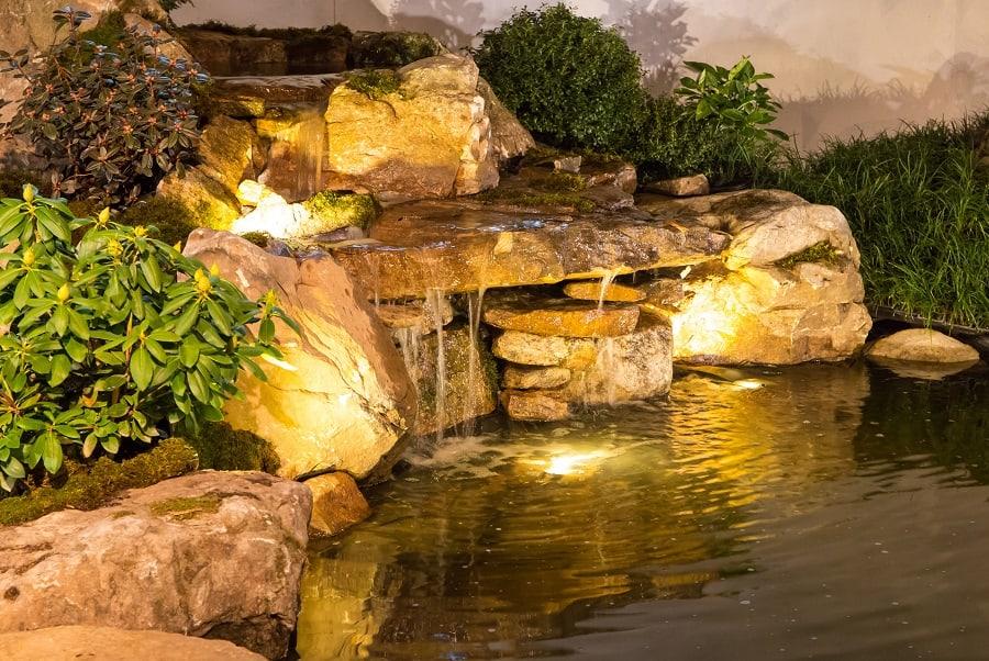 Boulder Rocks Landscape Ideas Backyard With Gravel Walkway
