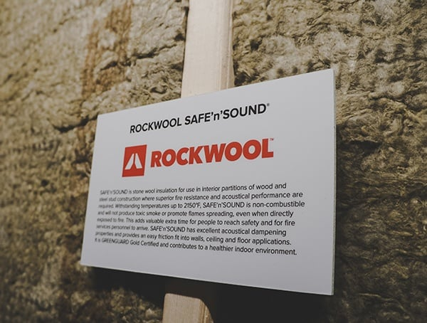 Rockwool Safe N Sound 2019 Nahb International Builders Show