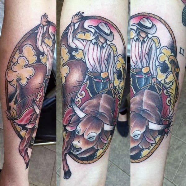 Rodeo Tattoo Ideas For Men