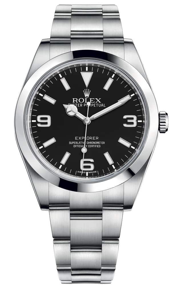 rolex explorer wrist watch
