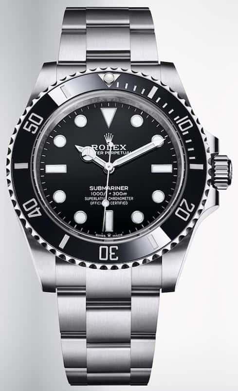 rolex submariner wrist watch